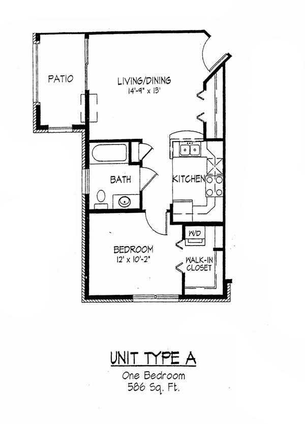 Cortland commons floor plans rouse management for Bedroom loft plans