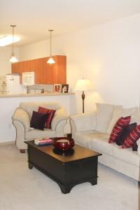 Cortland Commons - Living Room