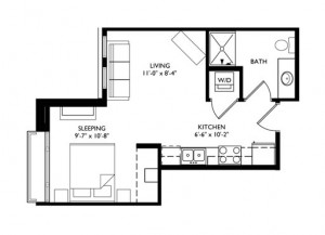 The Monroe Studio - Unit K