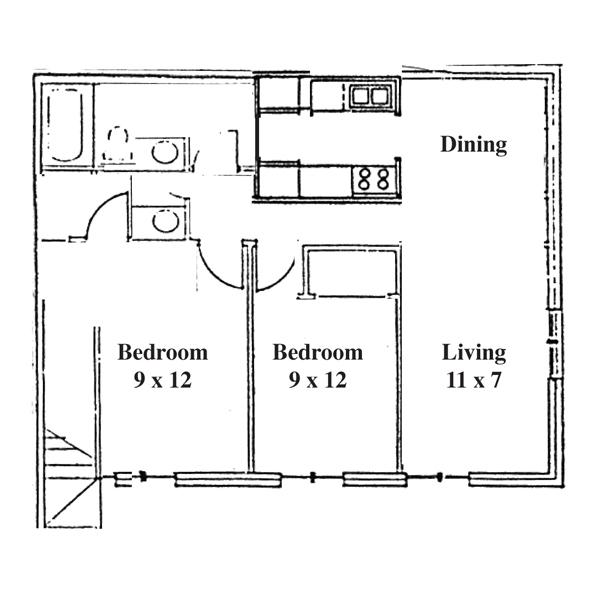 Renee Row 2 Bedroom - Ranch
