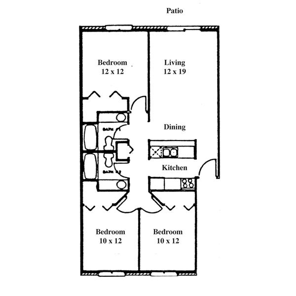 Renee Row 3 Bedroom - Ranch