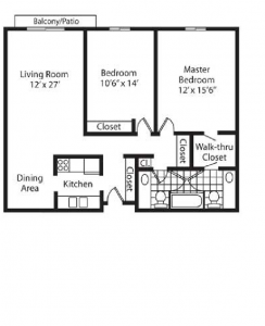 The Sovereign 2 Bedroom - In-line
