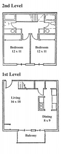 Springbrook Row - 2 Bedroom Townhouse