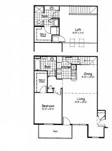 Cortland Pond 2 Bedroom - Unit G