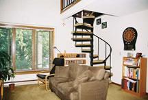 University Forest - Living Room