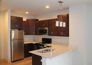 Capitol's Edge Apartments - Kitchen