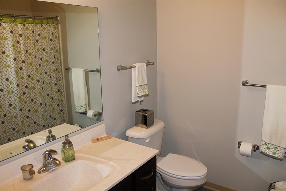 Capitol's Edge Apartments - Bathroom