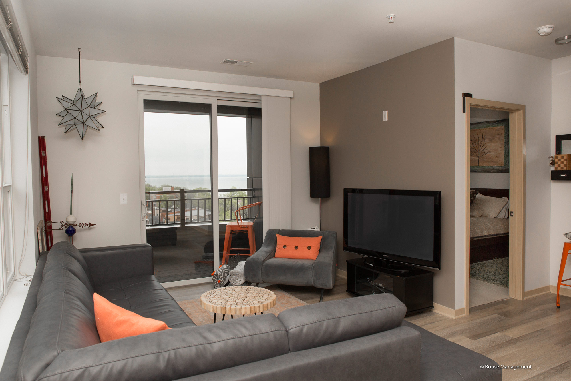 Capitol's Edge Apartments - Living Room