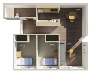 Two Bedroom Ranch