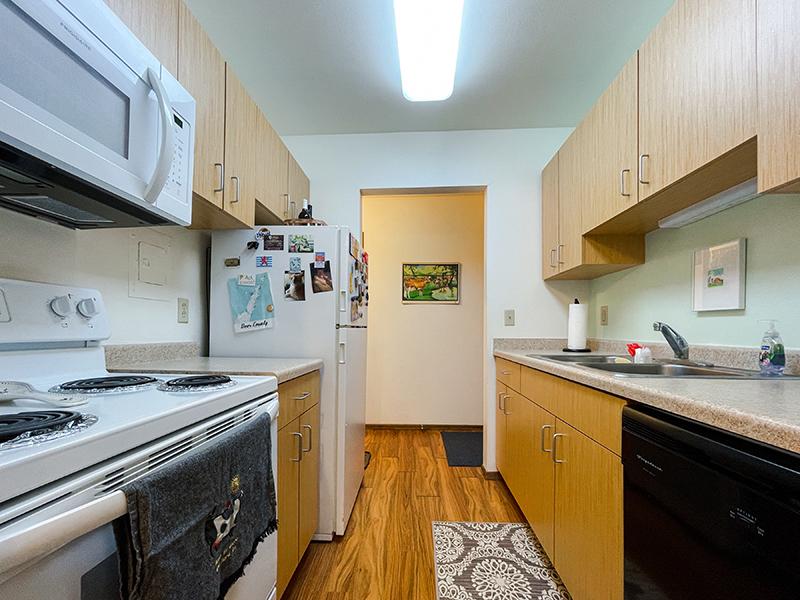 The Sovereign apartments kitchen