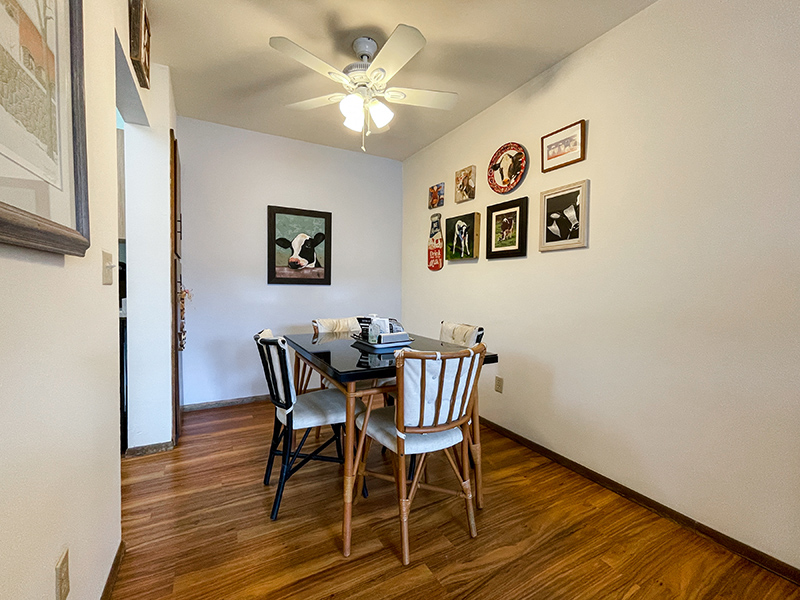 The Sovereign apartments dining room